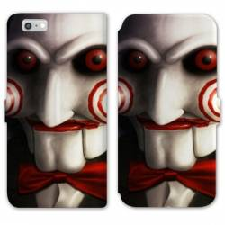 RV Housse cuir portefeuille Iphone 6 / 6s Horreur