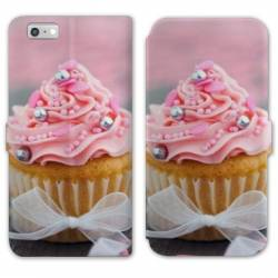 RV Housse cuir portefeuille Iphone 6 / 6s Gourmandise