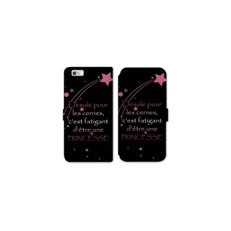 Rv housse cuir portefeuille iphone 6 6s humour for Housse portefeuille iphone 6