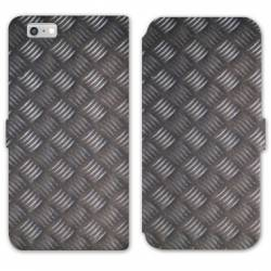 RV Housse cuir portefeuille Iphone 6 / 6s Texture