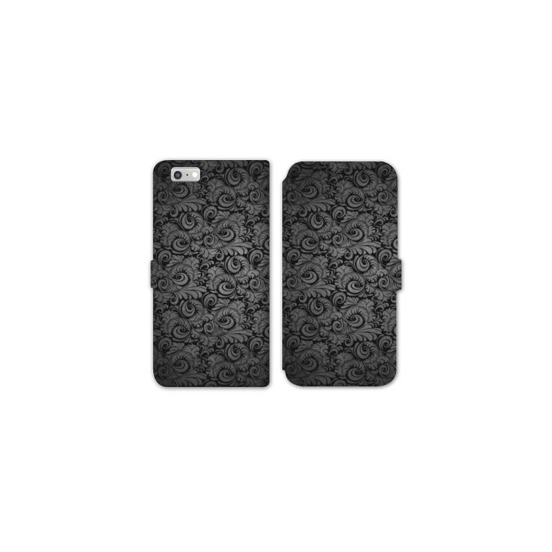 Rv housse cuir portefeuille iphone 6 6s texture for Housse cuir iphone 6