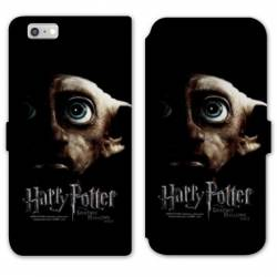 RV Housse cuir portefeuille Iphone 6 / 6s WB License harry potter A