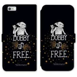 RV Housse cuir portefeuille Iphone 6 / 6s WB License harry potter dobby