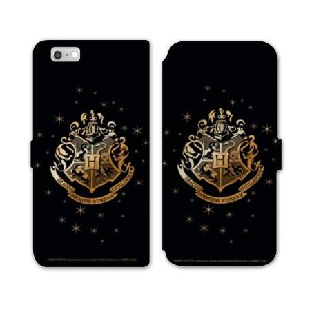 RV Housse cuir portefeuille Iphone 6 / 6s WB License harry potter pattern
