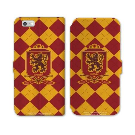 RV Housse cuir portefeuille Iphone 6 / 6s WB License harry potter ecole