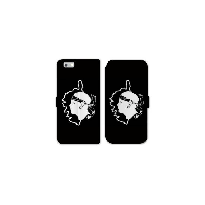 Rv housse cuir portefeuille iphone 7 corse for Housse iphone 7 cuir