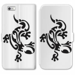 RV Housse cuir portefeuille Iphone 7 animaux