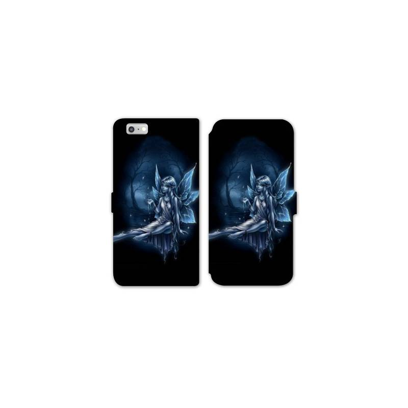 Rv housse cuir portefeuille iphone 7 fantastique for Housse iphone 7 cuir