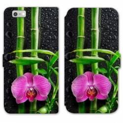 RV Housse cuir portefeuille Iphone 7 Zen