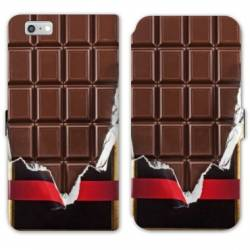 RV Housse cuir portefeuille Iphone 7 Trompe oeil