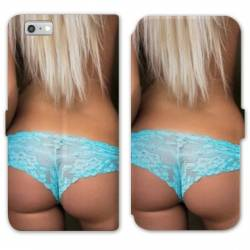 RV Housse cuir portefeuille Iphone 7 Sexy