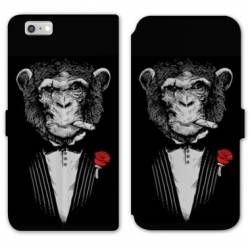 RV Housse cuir portefeuille Iphone 7 Decale