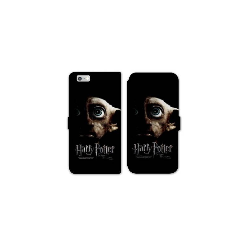 Rv housse cuir portefeuille iphone 7 wb license harry potter a for Housse iphone 7 cuir