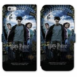 RV Housse cuir portefeuille Iphone 7 WB License harry potter D