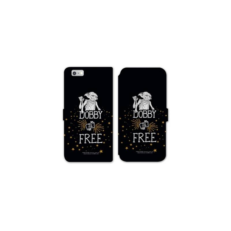Rv housse cuir portefeuille iphone 7 wb license harry for Housse iphone 7 cuir