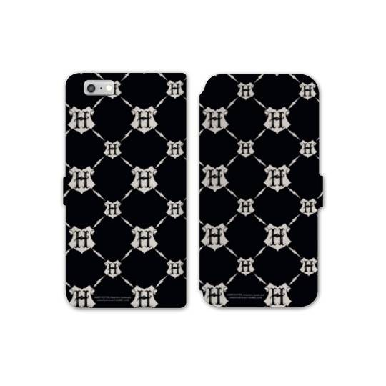RV Housse cuir portefeuille Iphone 7 WB License harry potter pattern