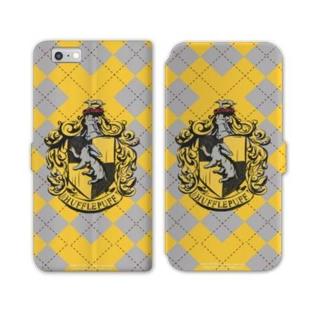 RV Housse cuir portefeuille Iphone 7 WB License harry potter ecole