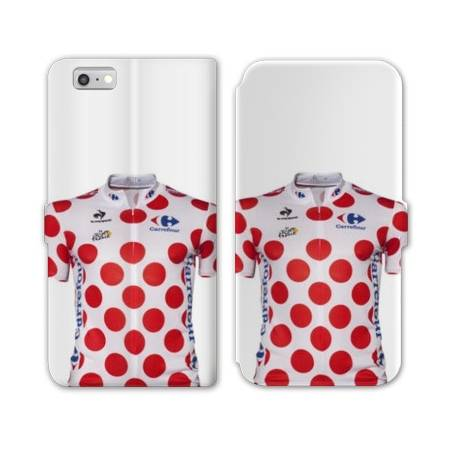 RV Housse cuir portefeuille Iphone 6 / 6s Cyclisme