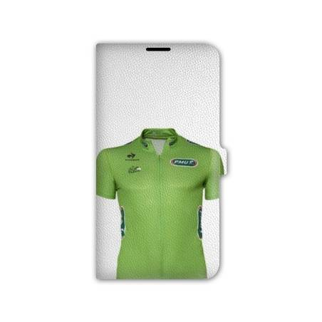 Housse cuir portefeuille Iphone 7 Cyclisme