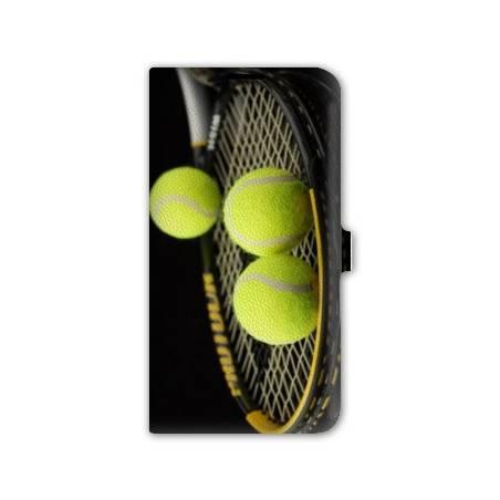 Housse cuir portefeuille Iphone 6 / 6s Tennis