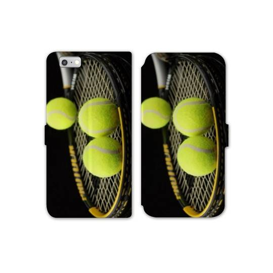 RV Housse cuir portefeuille Iphone 6 / 6s Tennis