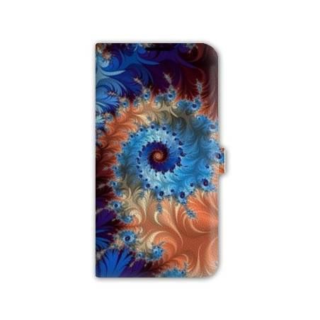 Housse cuir portefeuille Iphone 6 / 6s Psychedelic