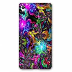 Coque OnePlus X Psychedelic