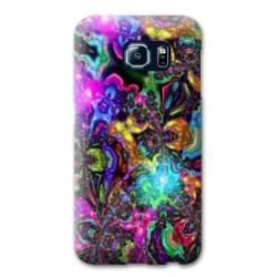 Coque Samsung Galaxy S6 Edge Psychedelic