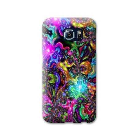 Coque Samsung Galaxy S6 Psychedelic