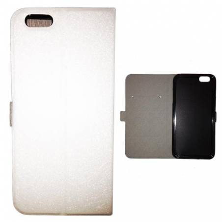 Housse cuir portefeuille Iphone 6 / 6s Grunge