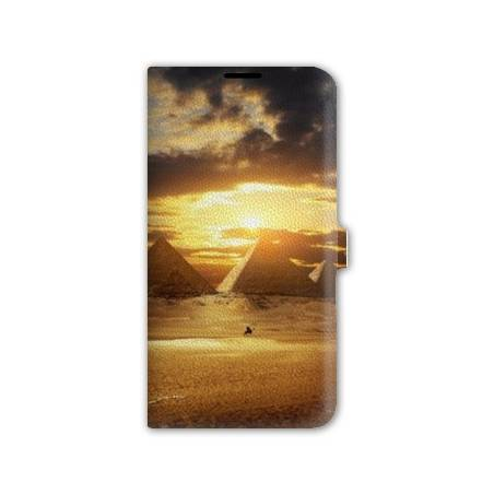 Housse cuir portefeuille Iphone 6 / 6s Egypte
