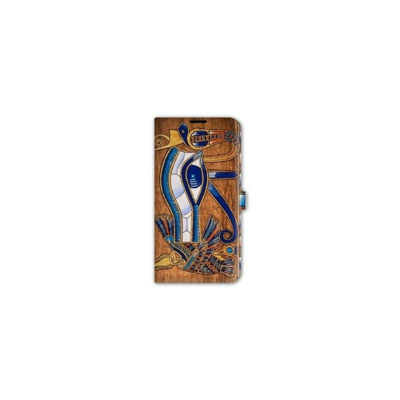 Housse cuir portefeuille iphone 6 6s egypte for Housse cuir iphone 6