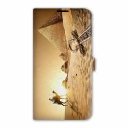 Housse cuir portefeuille Iphone 6 Plus / 6s Plus Egypte