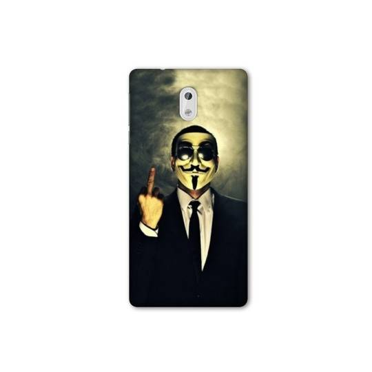 Coque pour Nokia 3 - N3 Anonymous