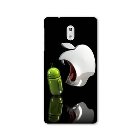 Coque Nokia 3 - N3 apple vs android