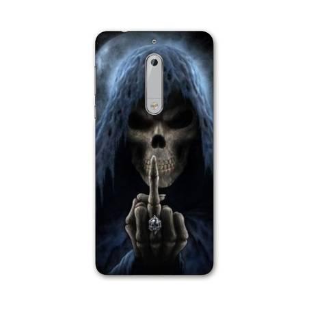 Coque Nokia 5 - N5 tete de mort