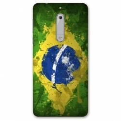 Coque Nokia 5 - N5 Bresil