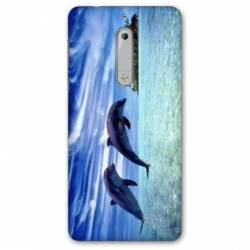 Coque Nokia 5 - N5 animaux