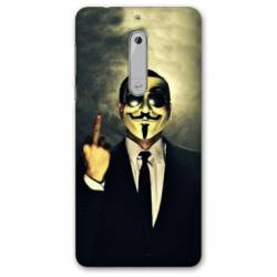 Coque Nokia 5 - N5 Anonymous