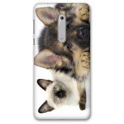 Coque Nokia 6 - N6 animaux 2
