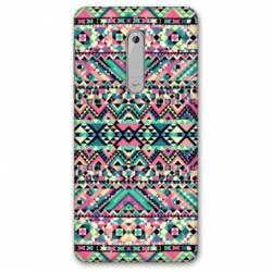 Coque Nokia 6 - N6 motifs Aztec azteque
