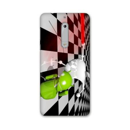 Coque Nokia 6 - N6 apple vs android