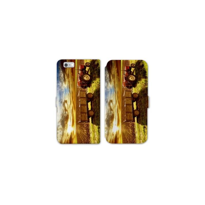 Rv housse cuir portefeuille iphone 6 6s agriculture for Housse cuir iphone 6