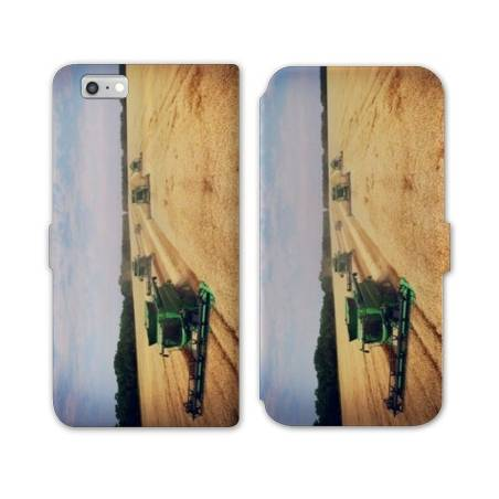 RV Housse cuir portefeuille Iphone 7 Agriculture