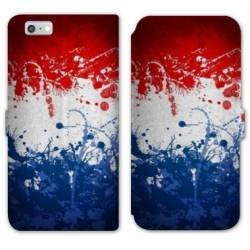 RV Housse cuir portefeuille Iphone 8 France