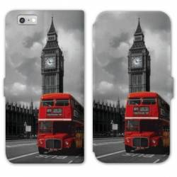 RV Housse cuir portefeuille Iphone 8 Angleterre