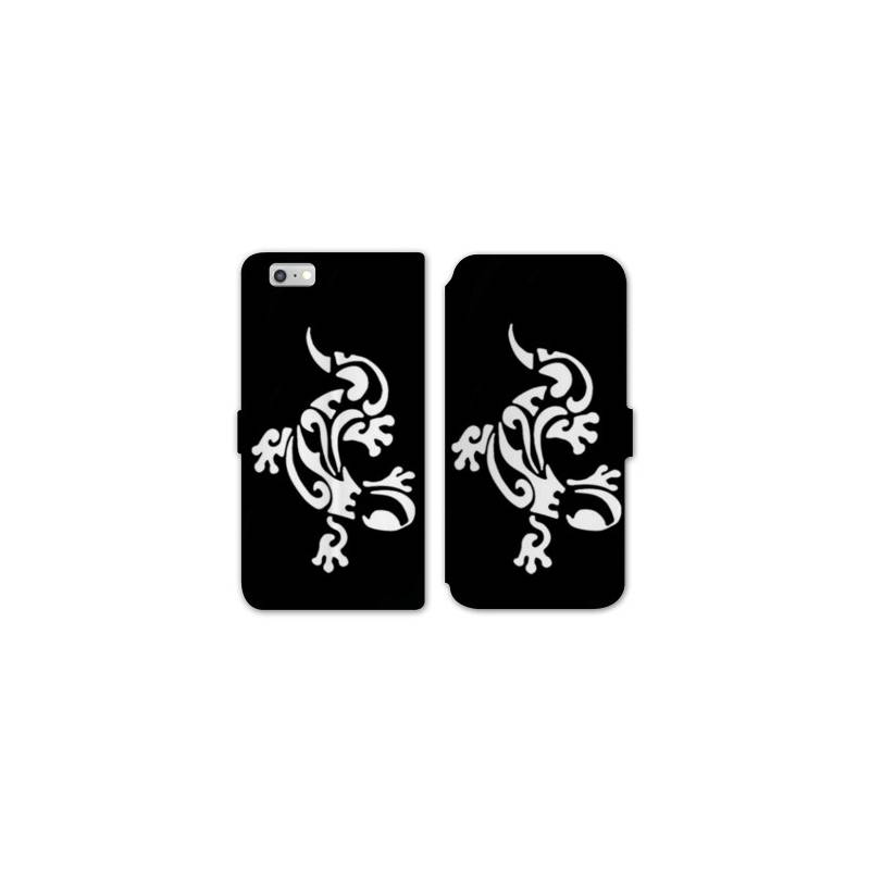 Rv housse cuir portefeuille iphone 8 animaux for Housse iphone 8