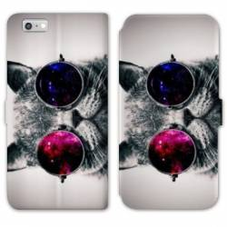 RV Housse cuir portefeuille Iphone 8 animaux 2