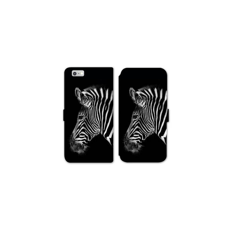 Rv housse cuir portefeuille iphone 8 savane for Housse iphone 8