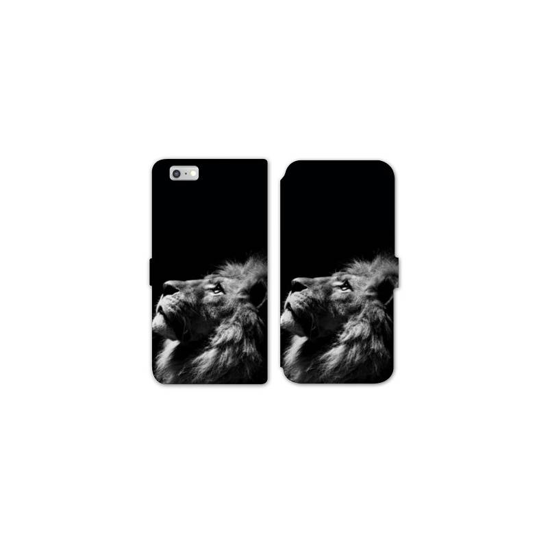 Rv housse cuir portefeuille iphone 8 felins for Housse iphone 8
